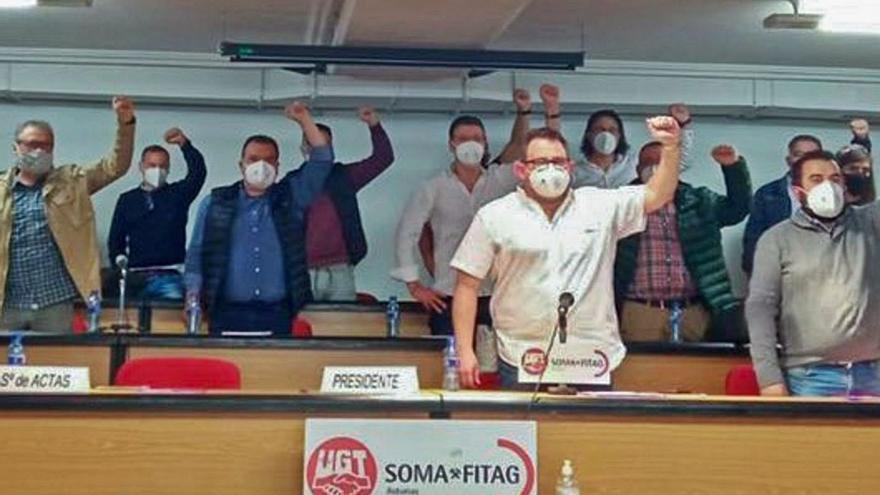 El SOMA reivindica un pacto por la energía para abrir la regasificadora de El Musel