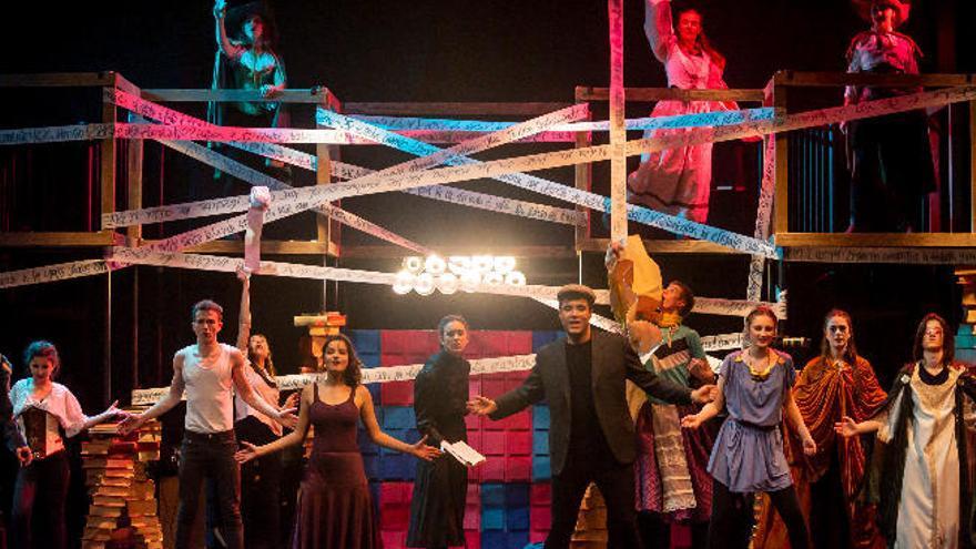 Un grupo de jóvenes canarios aspira a ganar el Premio Buero de Teatro