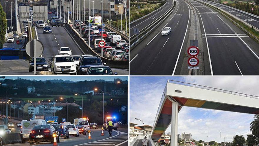 Las carreteras de A Coruña y su comarca suman 38 tramos peligrosos por alcohol y drogas