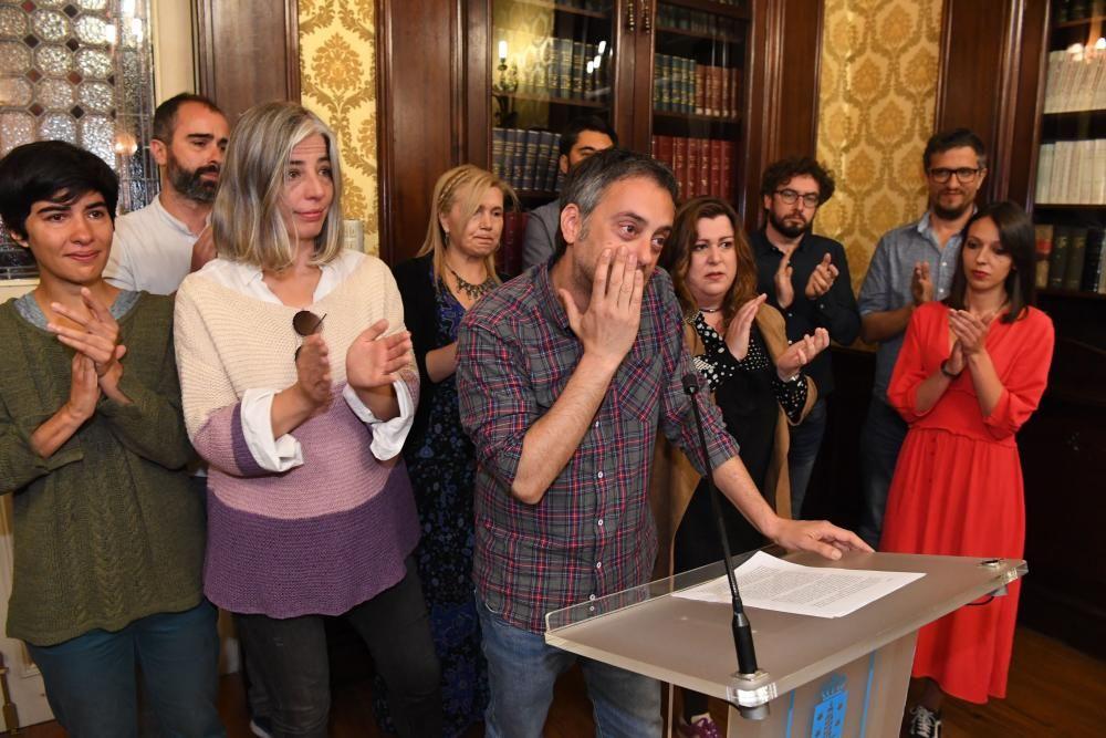 Xulio Ferreiro renuncia a estar en la Corporación