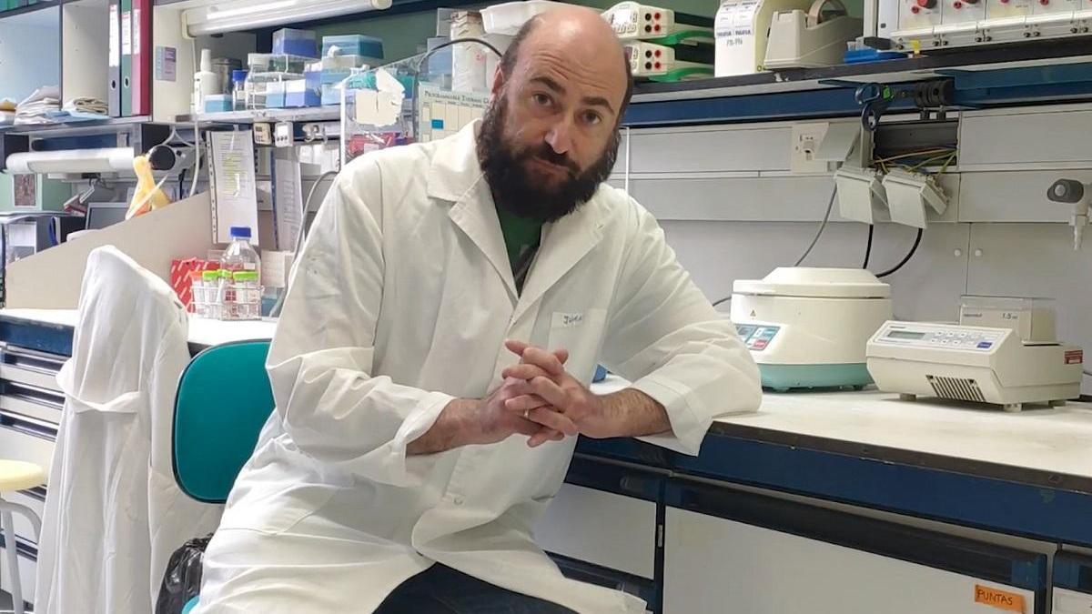 Juan García Arriaza: «Preparamos el ensayo clínico de la vacuna para este primer trimestre»