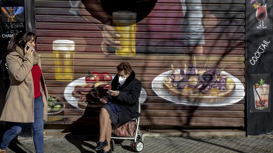 Bares y grandes comercios de Mallorca cerrados