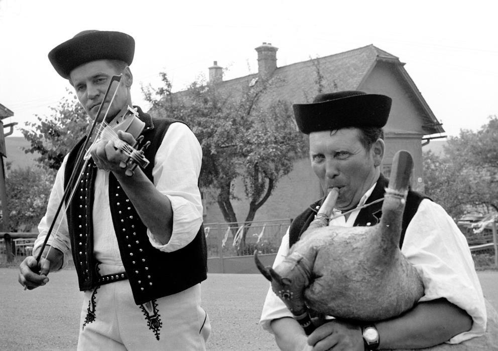 Eslovaquia - La cultura de la gaita, expresiones culturales y conocimientos vinculados a este instrumento y sus usos.