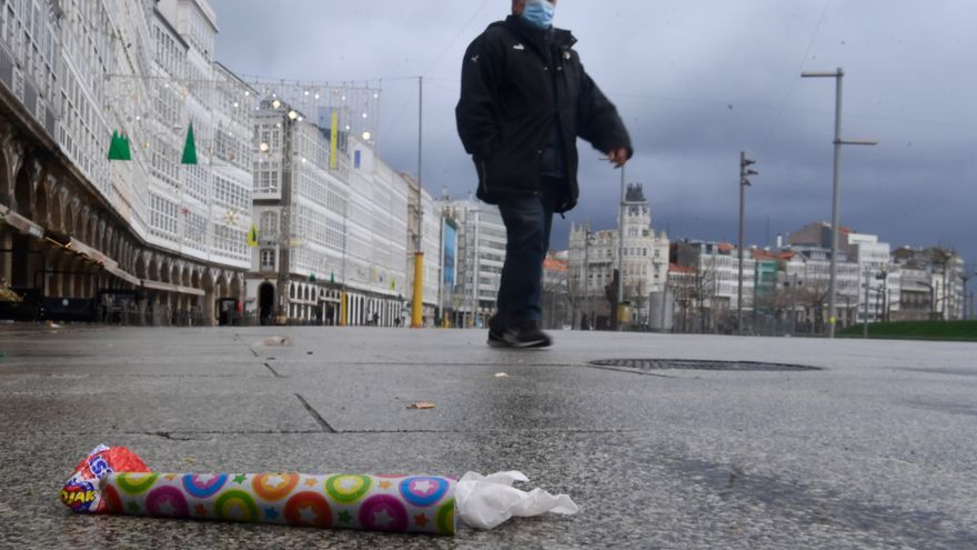 El 092 denuncia 44 infracciones en A Coruña desde el 31 de diciembre por la tarde