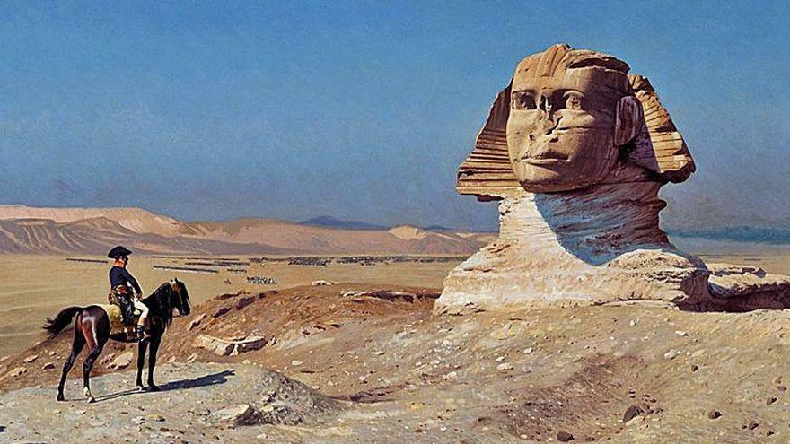 Napoleón, el general que quiso ser faraón