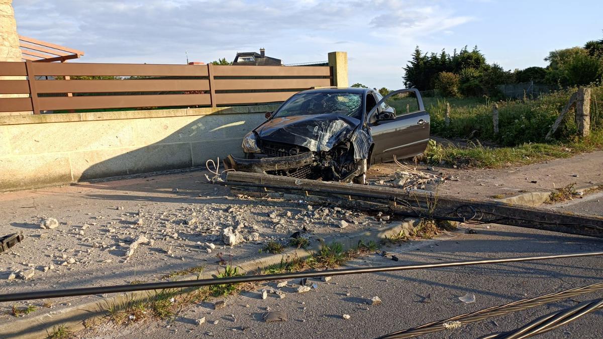 Estado en el que quedó el vehículo implicado en el accidente