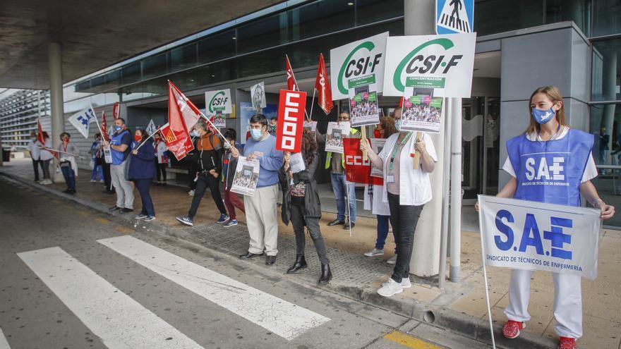 Los sindicatos de Baleares exigen contrataciones porque los sanitarios «están agotados»