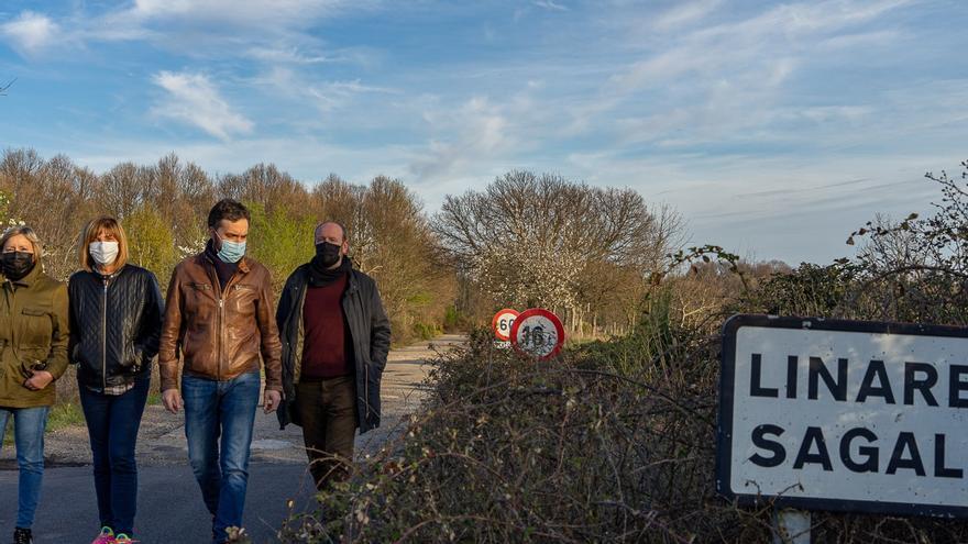 El PP promueve el arreglo del camino de Robledo y Linarejos a Villarino Manzanas