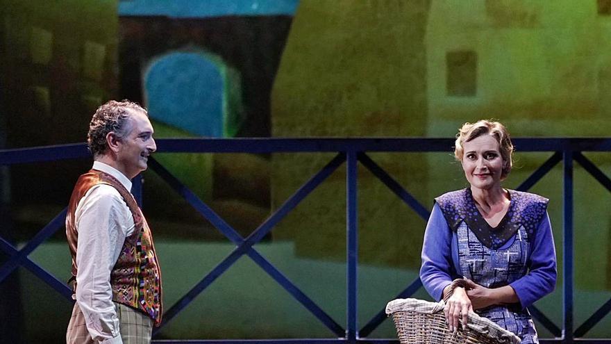El Teatro de la Zarzuela reúne a Jordi Bernàcer y Sandra Ferrández
