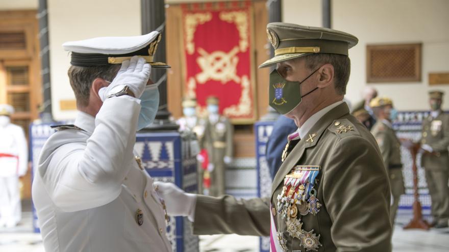 Las Fuerzas Armadas ensalzan la Operación Balmis durante la Pascua Militar en Canarias