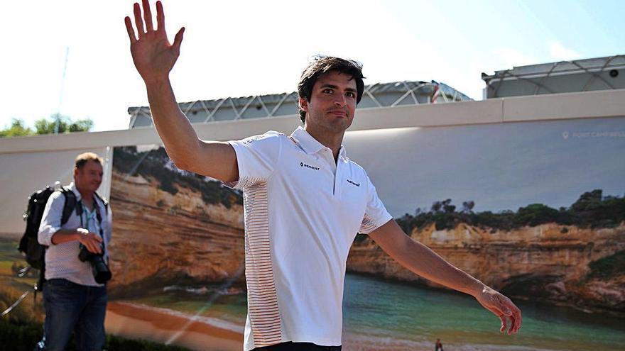L'escuderia Ferrari anuncia el fitxatge per dos anys del madrileny Carlos Sainz