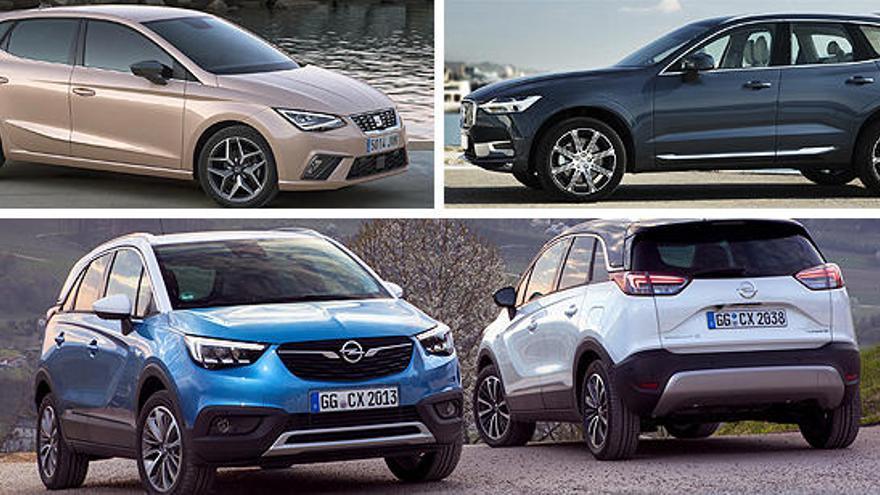 Volvo XC60, Seat Ibiza y Opel Crossland X, candidatos de junio al Coche del Año