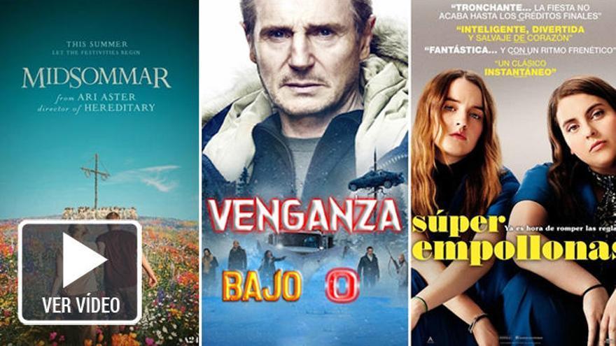Cine de terror y varias comedias entre los estrenos de la semana
