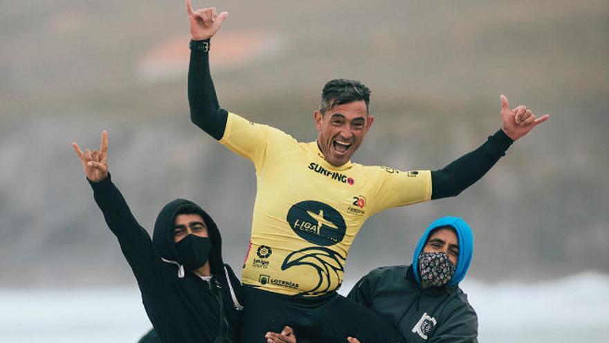 El 'Oso' Hernández se alza con el cetro en 'Kneeboard'