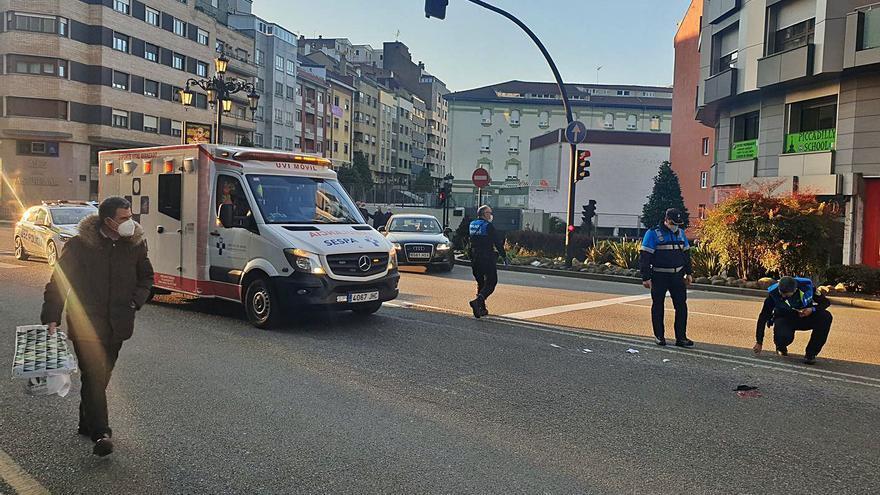 Final trágico para el atropello de Muñoz Degraín: la víctima, un hombre de 82 años, fallece en el HUCA
