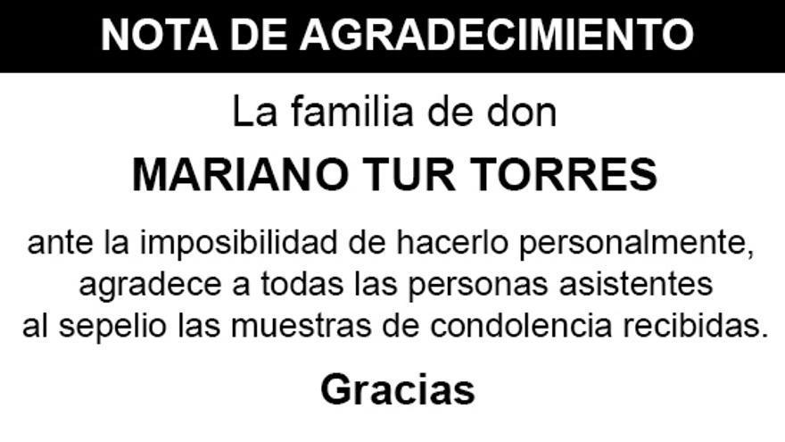 Nota Mariano Tur Torres