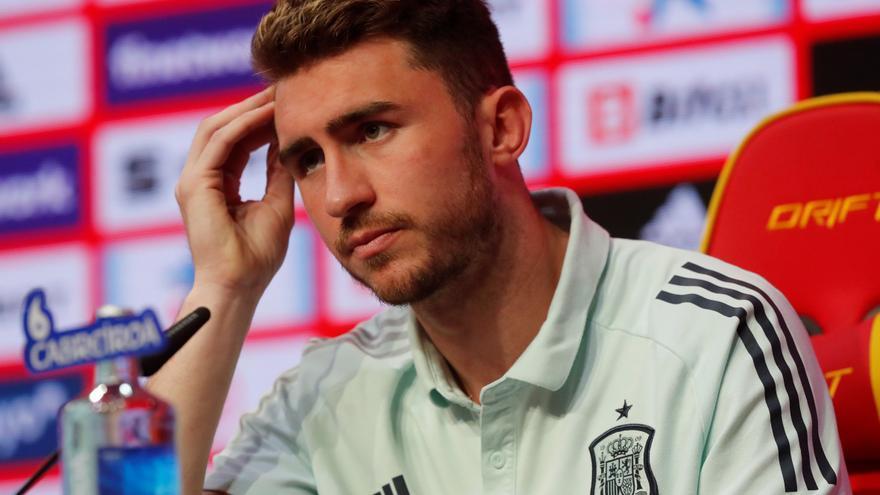 """Laporte, molesto ante una pregunta sobre su sentimiento español: """"Nadie tiene que dudar de que lo voy a dar todo"""""""
