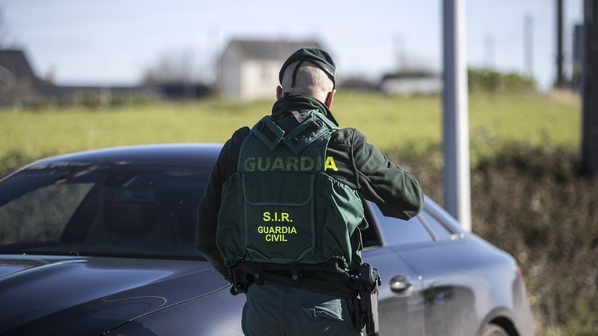 Un control de la Guardia Civil.
