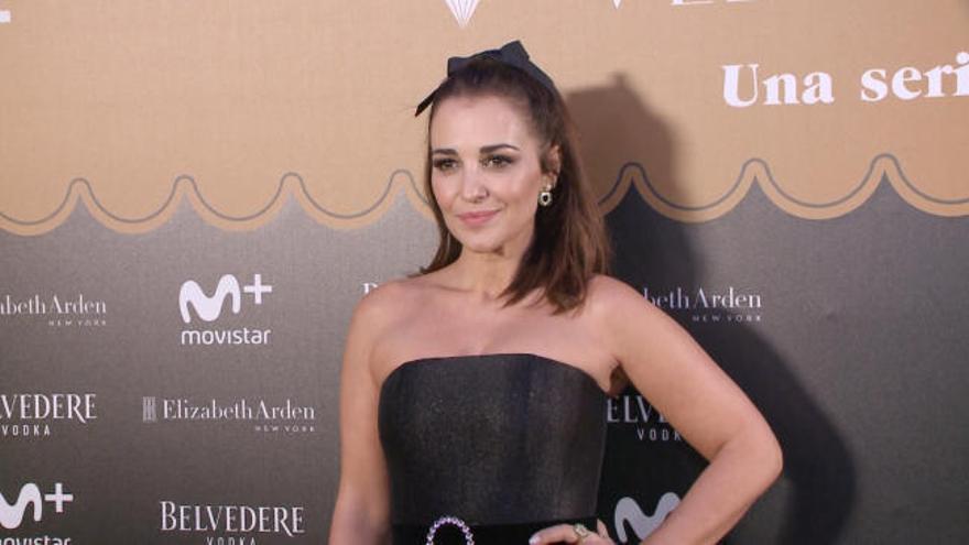 Paula Echevarría habla claro y despeja los rumores sobre su aumento de peo