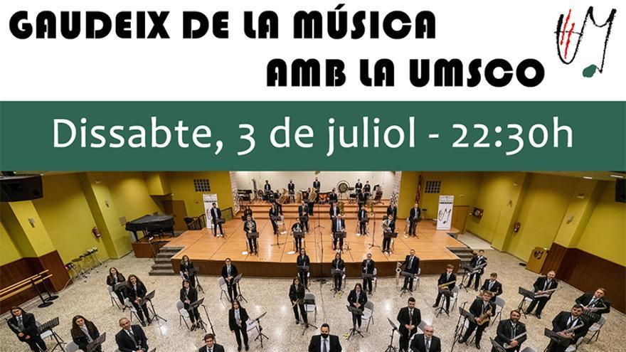 In vivo con la banda sinfónica del UMSCO