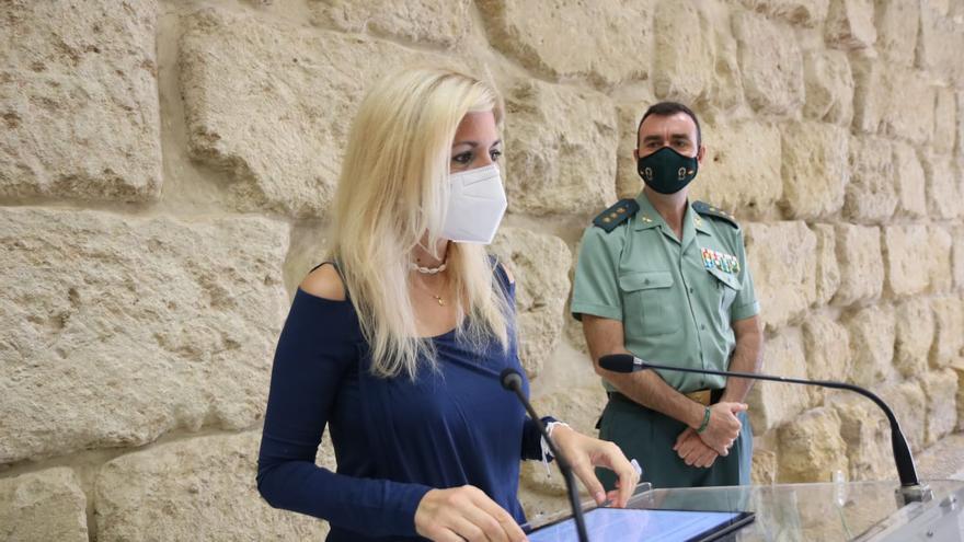 Drones y sensores de mascarillas velarán por la seguridad en los actos de la Patrona de la Guardia Civil en Córdoba