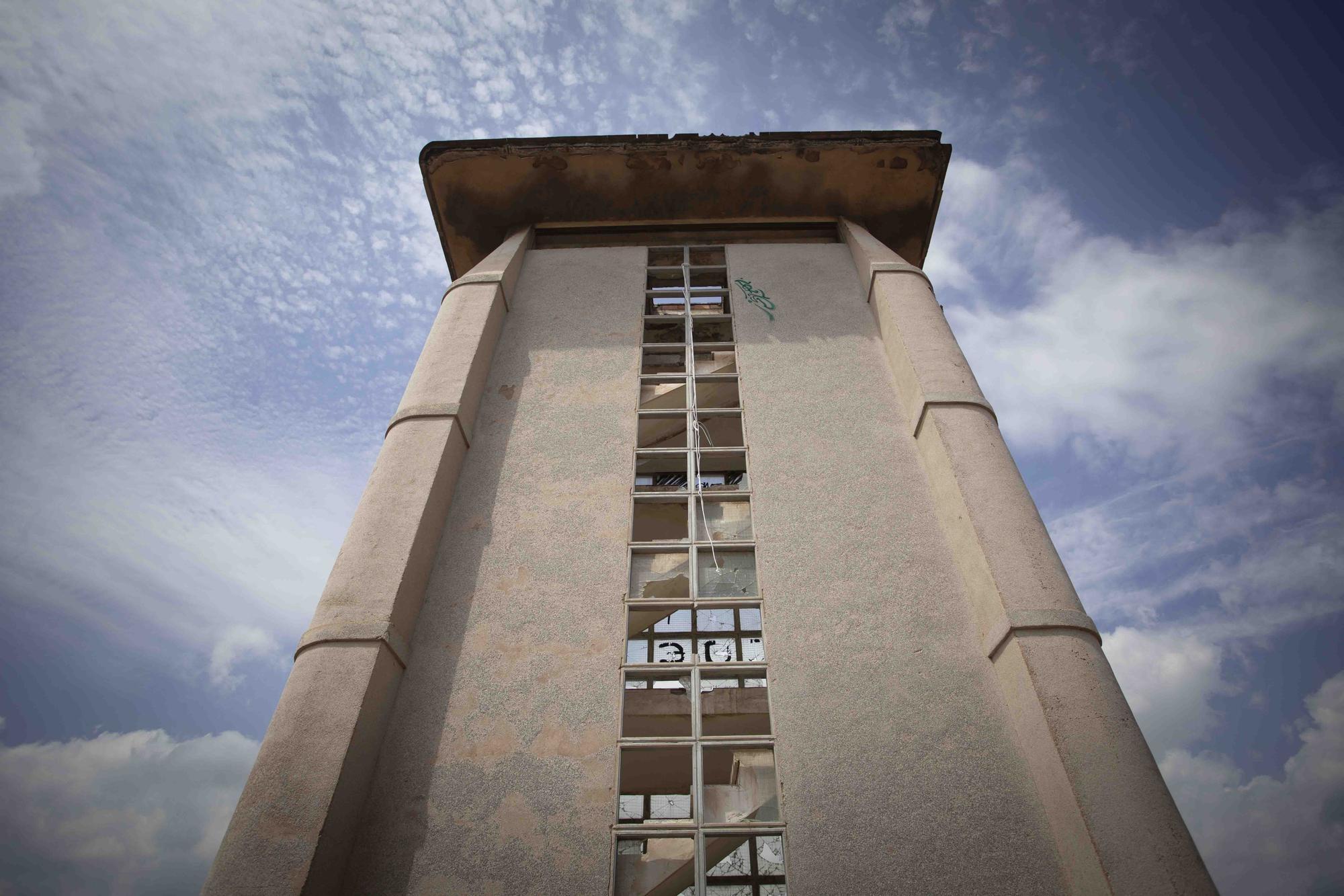 Taller del Alemán. Un lugar de interés arquitectónico abandonado en la entrada de Sagunt.
