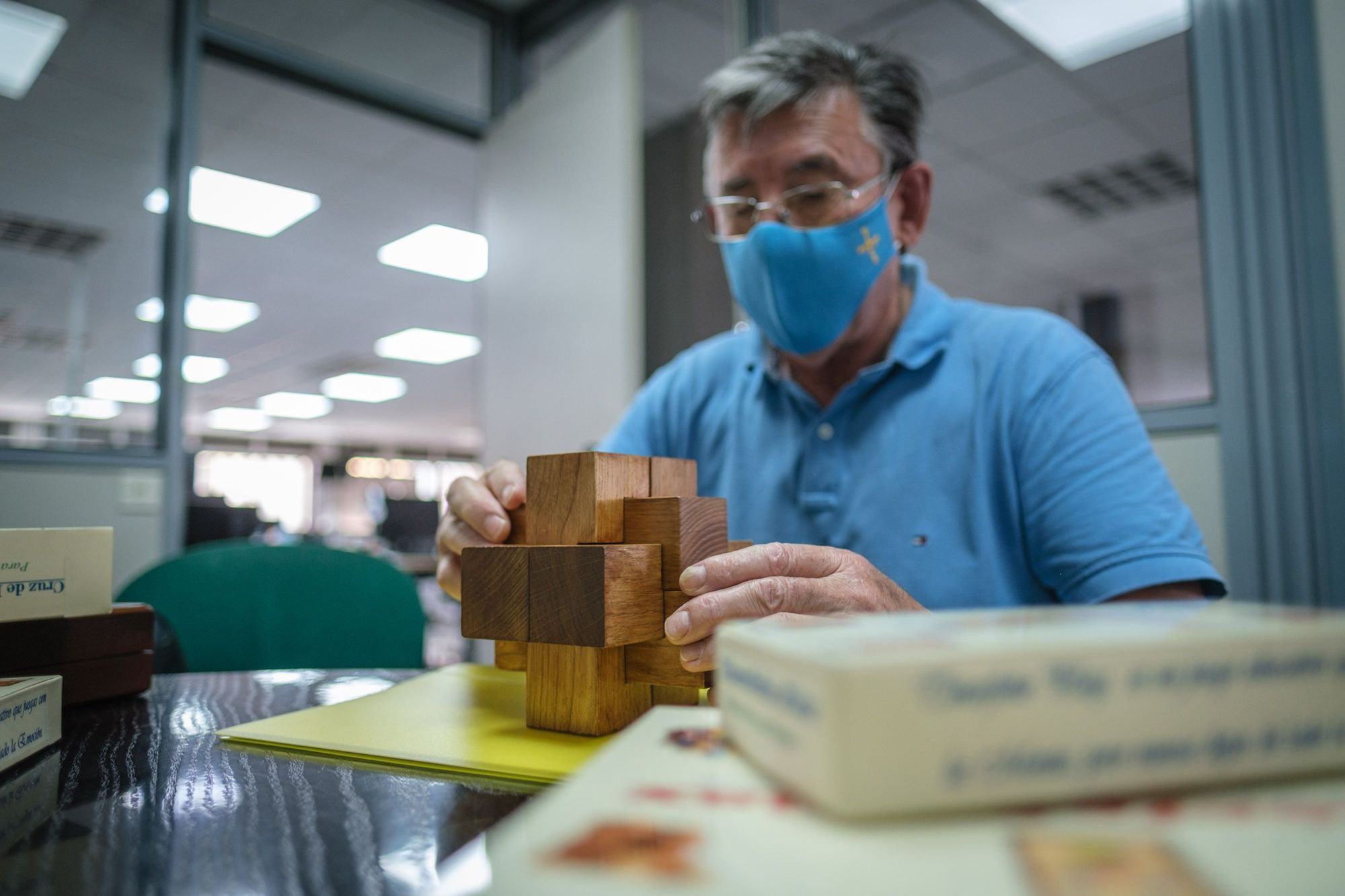 Victor Sariego, un inventor que propone crear en Tenerife la primera escultura modular intercambiable de Europa