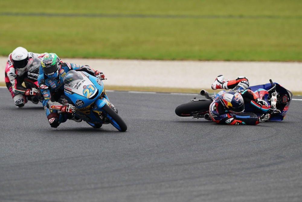 Carrera de Moto3 del GP de Australia