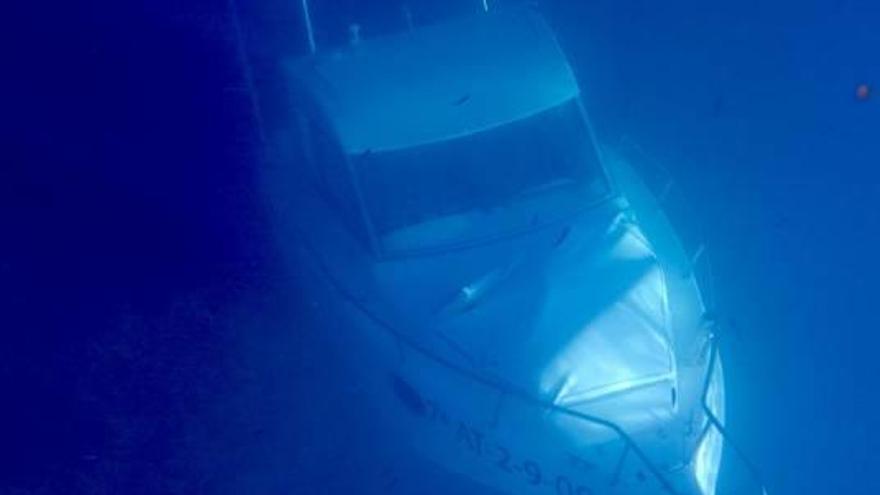 Una nueva embarcación se hunde en el Portitxol de Xàbia