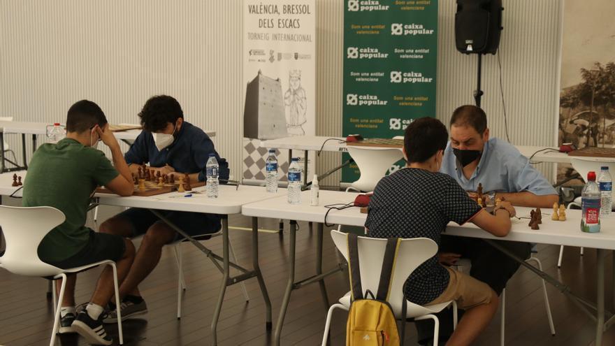 Arranca el campeonato autonómico de ajedrez en el Antic Mercat