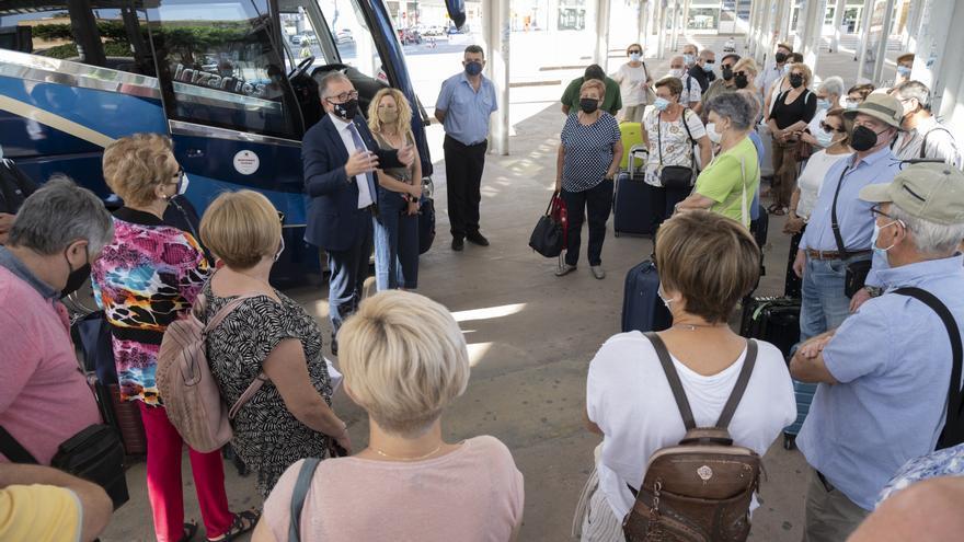 Castellón Sénior retomará en septiembre los viajes por la provincia: conoce la distintas rutas y sus precios