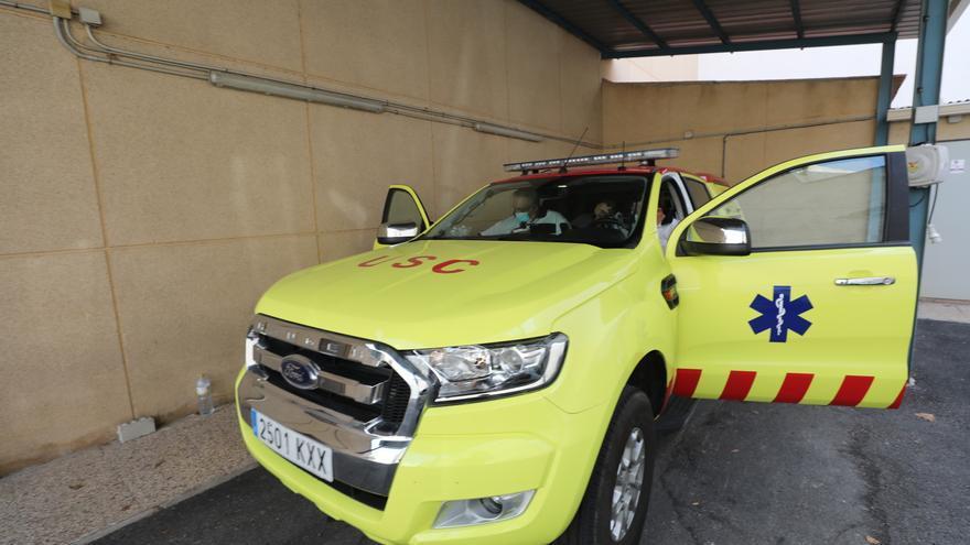 Heridos dos ciclistas en sendos accidentes en Alicante y Beneixama