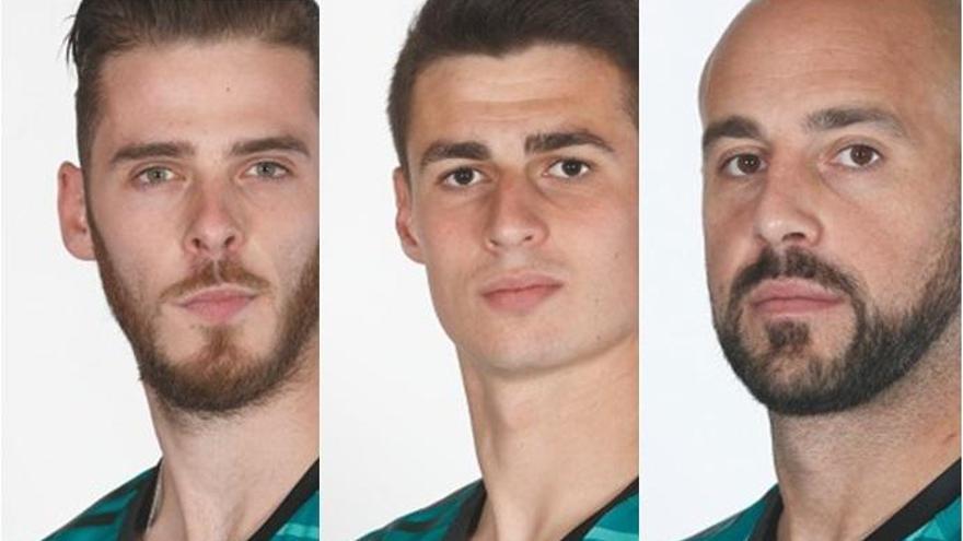 Estos son los porteros de la selección española en el Mundial