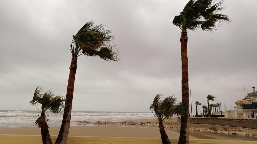 El tiempo en Alicante: alerta amarilla por fuertes rachas de viento y calor