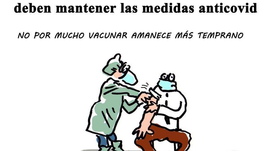 Sanidad avisa que los vacunados deberán mantener las medidas anticovid