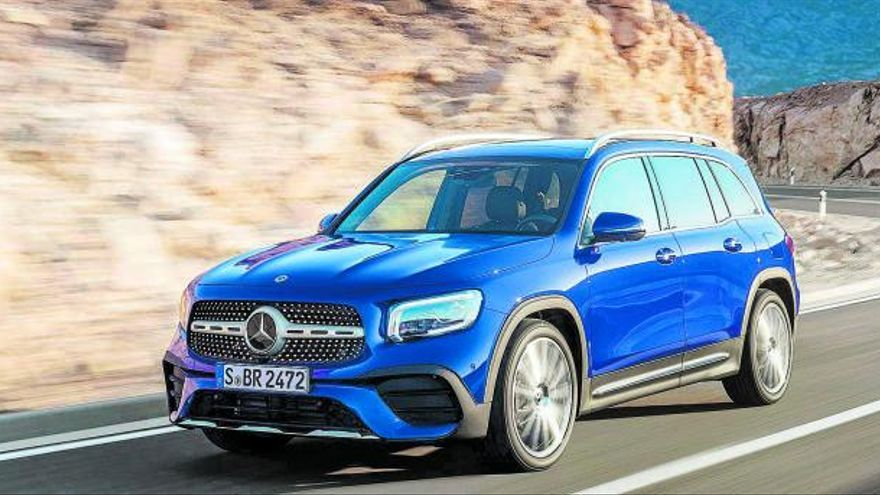 El Mercedes-Benz GLB 200d, al mejor precio en Dimovil