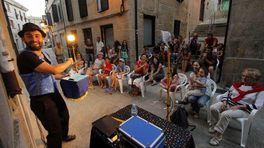 El Festival de Artistas de Rúa animará las calles de Redondela durante dos jornadas