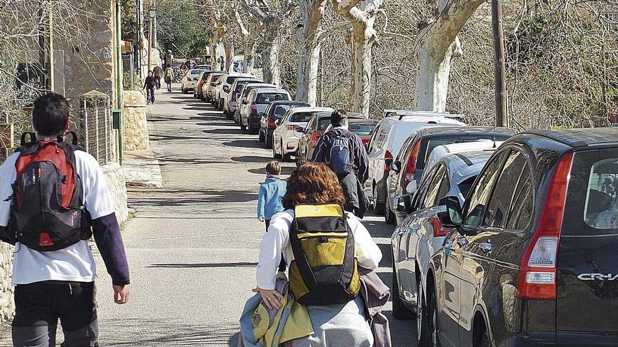 Sóller negocia crear un aparcamiento en Biniaraix para paliar el déficit de plazas