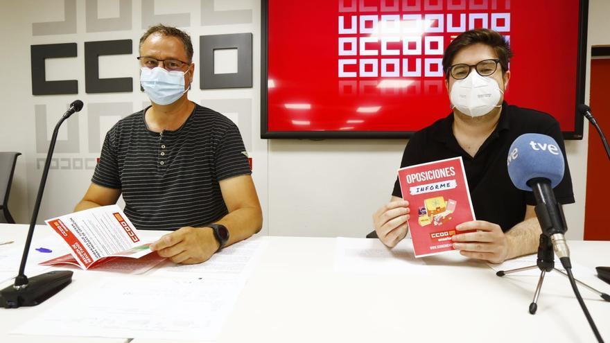 CCOO urge que se convoquen en Aragón 7.000 plazas de personal docente en 3 años