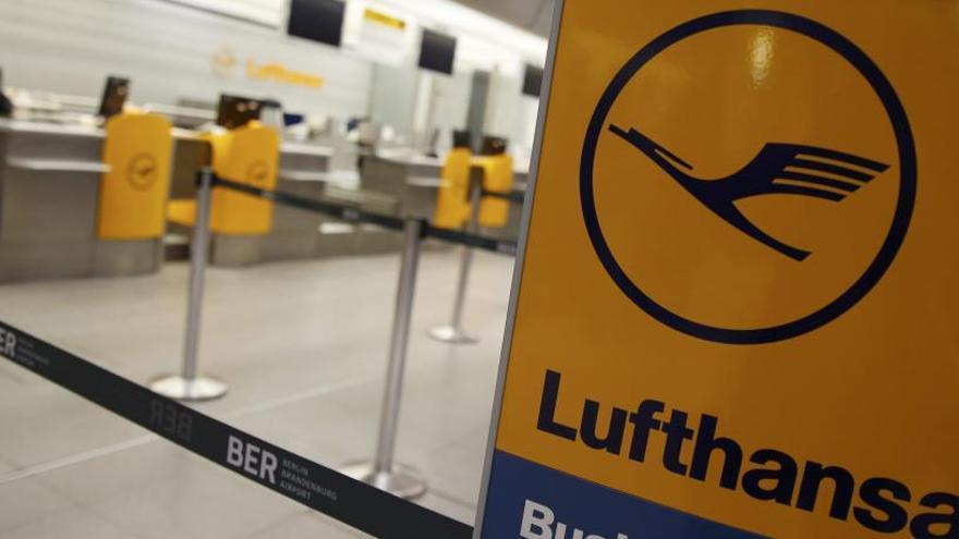 La huelga de Lufthansa afecta a miles de pasajeros