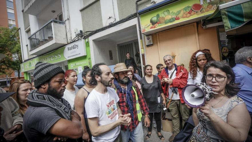 Bürgerprotest verhindert Zwangsräumung in Palma