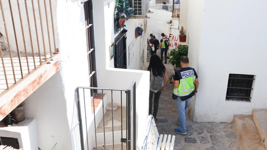 Piden cuatro años para una mujer arrestada en sa Penya, en Ibiza, con más de cien gramos de MDMA