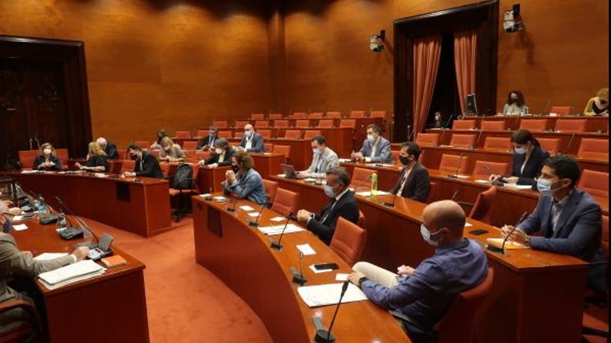 Totes les comissions on van els diputats gironins