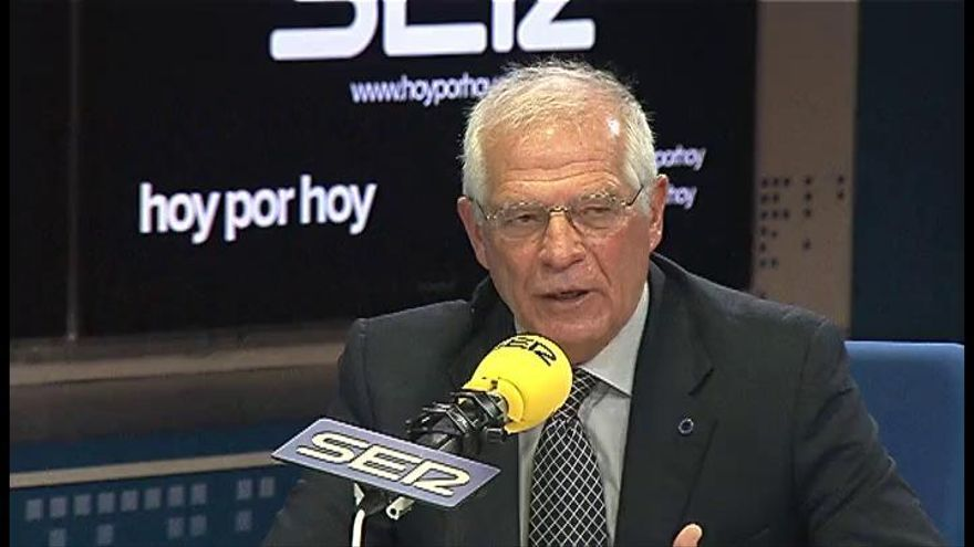 "Borrell: ""Si es un golpe de Estado, es chusquero"""