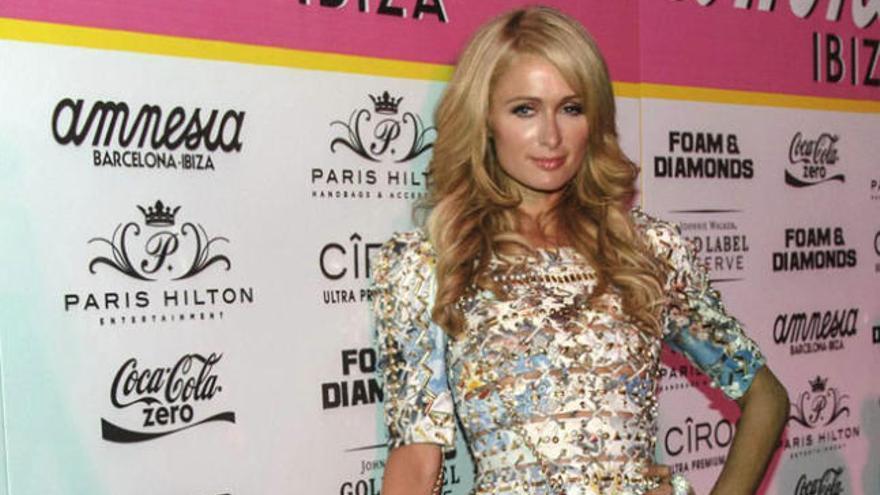 Paris Hilton `pincha´en Ibiza