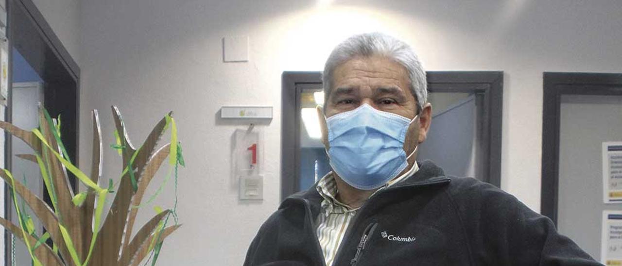 Julián Valdavida, ayer,. en la sede de Difac.