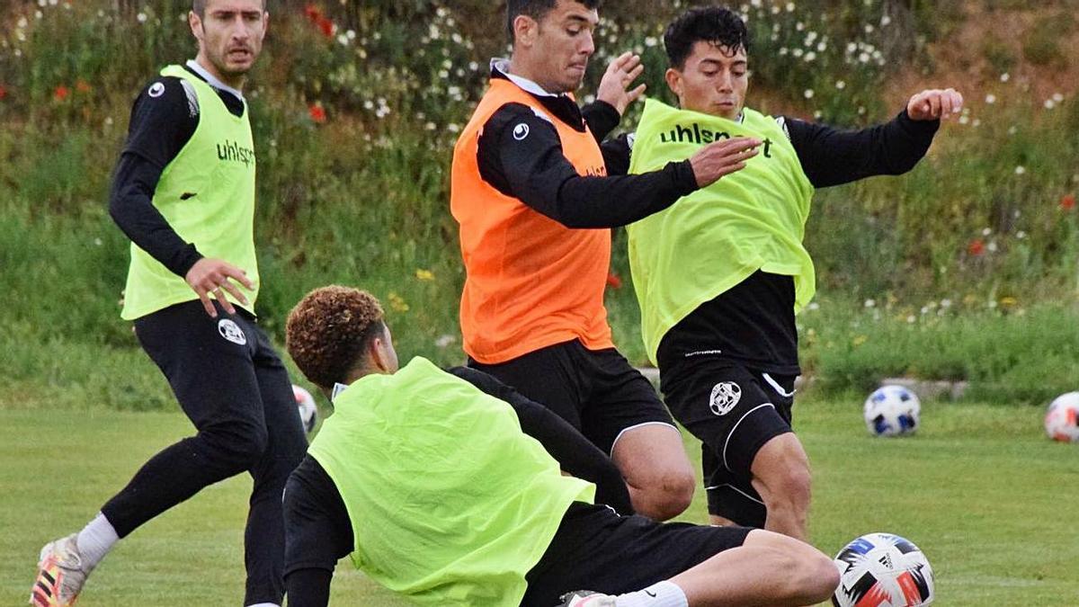 El Zamora ya prepara el partido más importante de la temporada.
