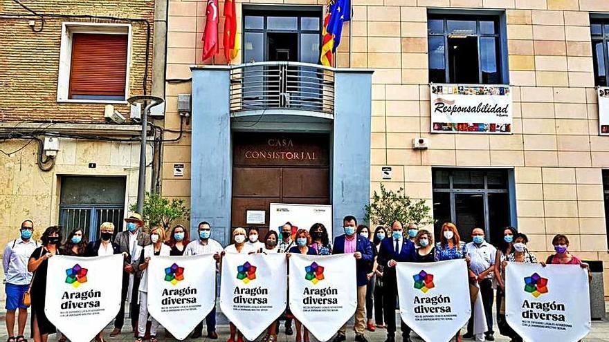 El municipio forma parte de la Red Aragón Diversa de entidades locales