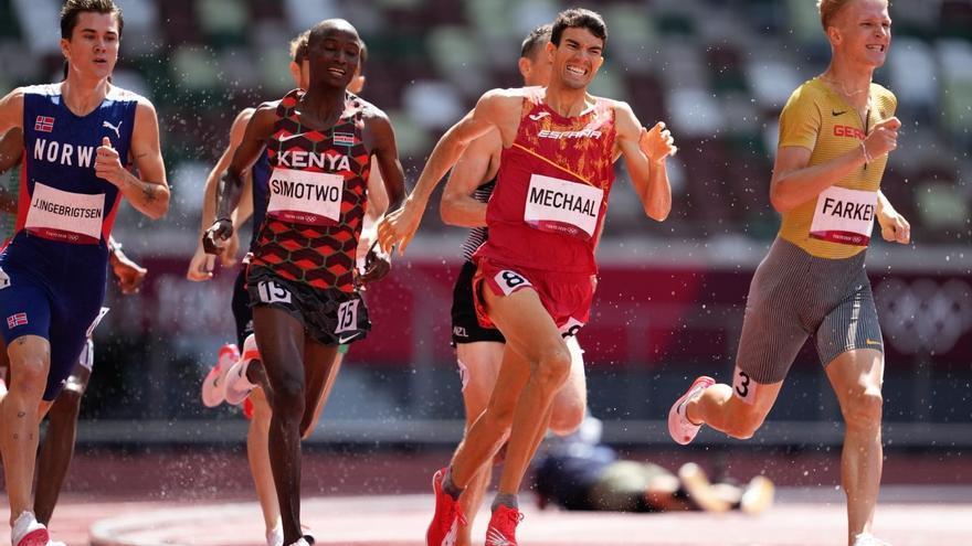 Ignacio Fontes y Adel Mechaal, clasificados para la final del 1.500