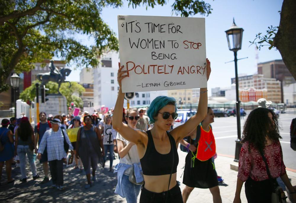 Protestas contra Donald Trump en Sudáfrica